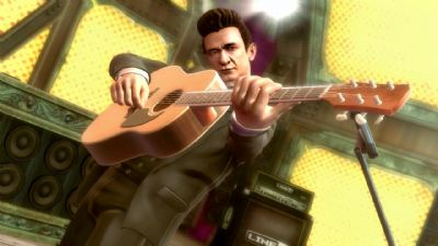 Johnny Cash resurrected for Guitar Hero 5 (360, PS2, PS3, WII) - 2202 JC1