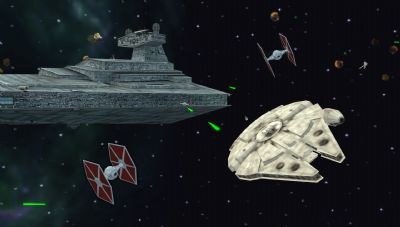 Starwars Battlefront: Renegade Squadron Review (PSP) - 226 Space Yavin 2