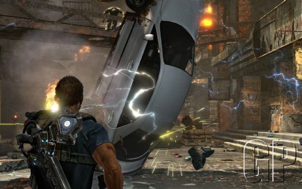 Namco Bandai Announces New Gravity Wielding Combat Shooter (360, PS3) - 2385 Inversion