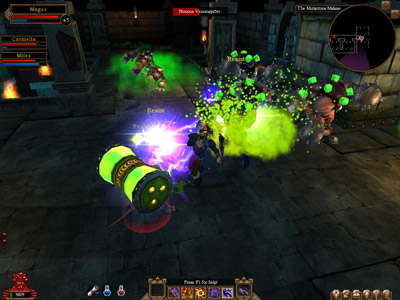 NCsoft Unveils Dungeon Runners Game (PC) - 250 drlaunch screen 7