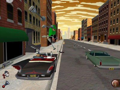 Sam & Max Episode 1: Culture Shock Review (PC) - 27 ep1 driving2