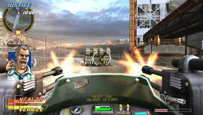 Pursuit Force - Extreme Justice Review (PSP) - 301 Bigbig PFEJ Jan07 HiResScreens 1