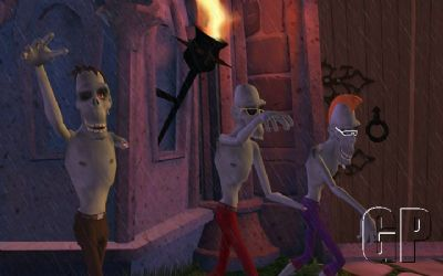 Sam & Max S2 E3 - Night of the Raving Dead Review (PC) - 304 ep203 zombies widescreen