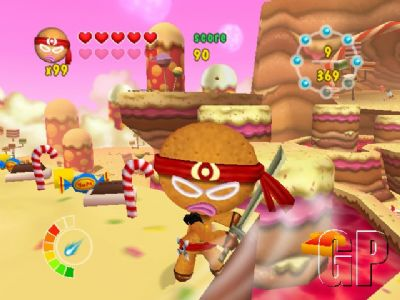Data Design Interactive strikes Gold with tough cookie Ninjabread Man (WII) -