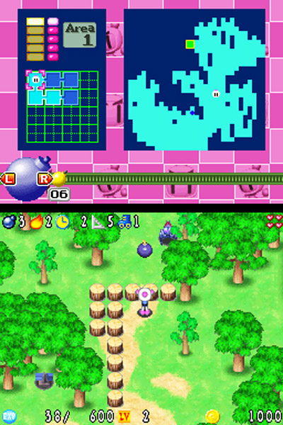 Bomberman Story Review (DS) - 307  field6