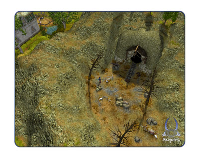 Sacred 2: Fallen Angel - Screen shots and Trailer (PC) - 30 09 Sacred 2  Overview white