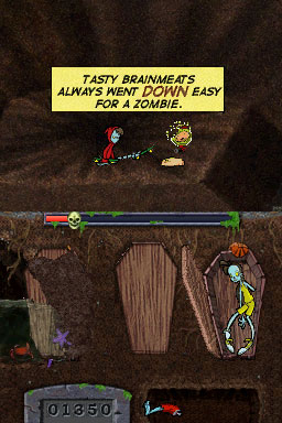 Teenage Zombies: Invasion of the Alien Brain Thingys Review (DS) - 341 559 RIP3