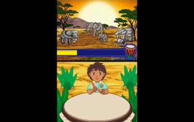 Dora the Explorer:Dora saves the Mermaids/ Go Diego Go! : Safari Adventure Review (DS) - 350 05
