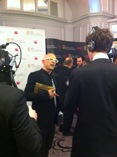 Roundup of the GAME British Academy Video Game Awards from last night (ARTICLES) - 3543 jason bradbury.pg