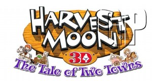 Enjoy farming on 2D plains and 3D landscapes with the simultanious DS and 3DS release of 'Harvest Moon:The Tale Of Two Towns' (3DS, DS)