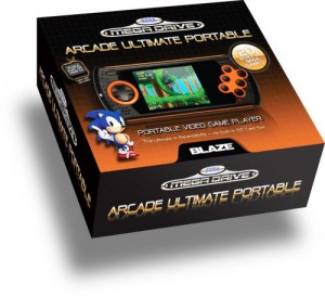SEGA MEGADRIVE ULTIMATE HANDHELD PORTABLE GAMING CONSOLE – WITH 20 BUILT IN SEGA MEGADRIVE GAMES! (RETRO)