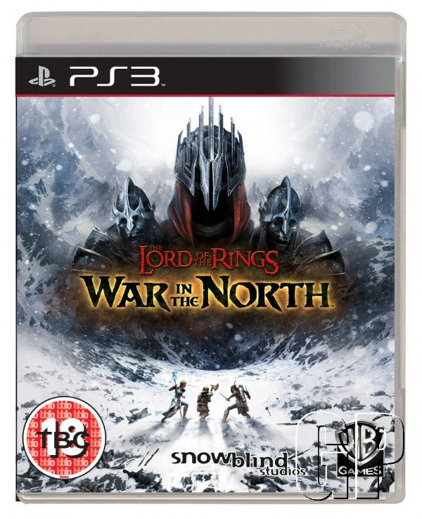 Pack Art Available for The Lord of the Rings: War in the North - 3857 WITN PS3 PACKSHOTS UK 2D