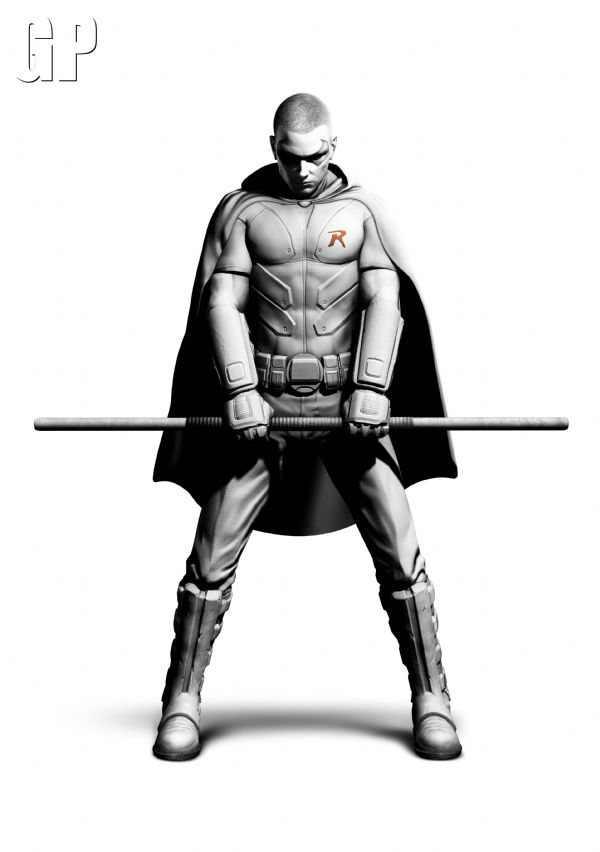 Batman: Arkham City for PC and Holy DLC Batman, it's Robin. (360, PC, PS3) - 3956 Robin FullBodyRender PR copy