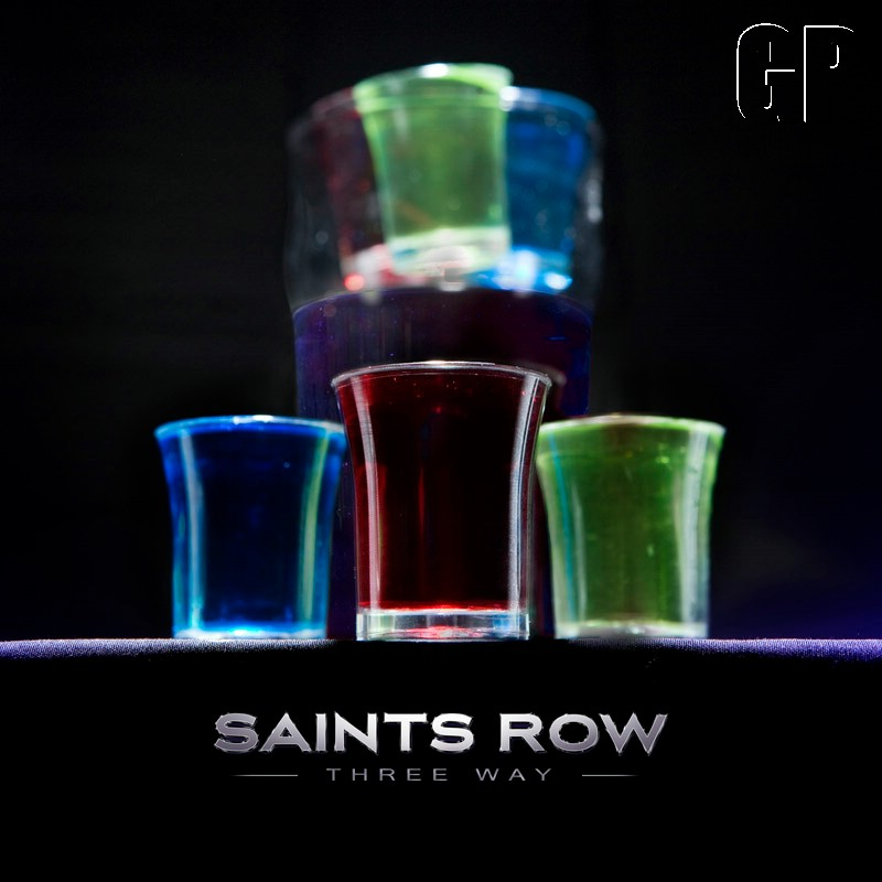 The Saints coorporate takeover reaches the real world with 'Saints Row: The Third' drinks...and some DLC news (OTHER) -