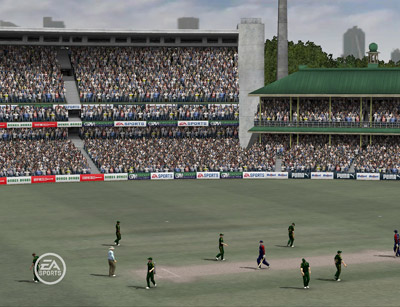 Cricket '07 Review (PC) - 40 CRKT07pcSCRNsydneyCrktGrd03