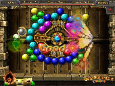 """""""The Golden Path of Plumeboom"""" ? Match-3 meets Arkanoid for whirling gameplay fun! (PC) - 464 gpp1"""