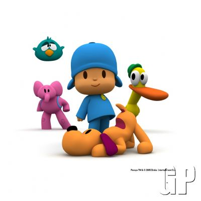 ZINKIA inks deal with VIRGIN PLAY for first Pocoyo video console game (DS) - 494 pocoy 2007