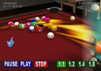 Definitive Pool and Snooker Title Coming to Wii in 2008 (WII) - 544 pool party replay1
