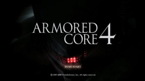 Armored Core 4 Explodes Onto Playstation 3 For The Ultimate Robot Rumble (PS3)