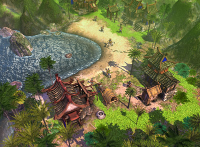 Sierra entertainment preps for battle with Empire Earth III due out in fall 2007 - 65 EE3 Tropical ancient far ea