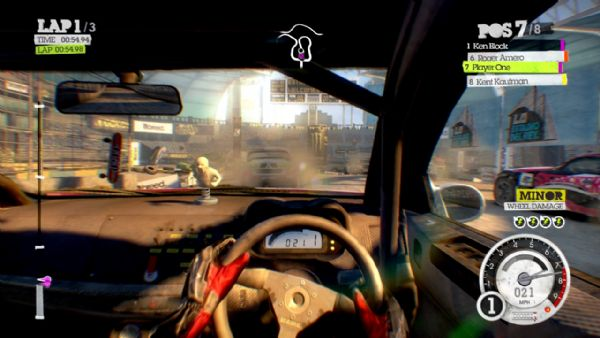 Colin McRae: Dirt 2 Review (360) - 699 dirt2 la rallycross18
