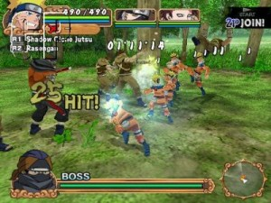 NAMCO BANDAI Games 'NARUTO: Uzumaki Chronicles 2' Brings New Thrteats, Allies And Adventures To Europe (PS2)