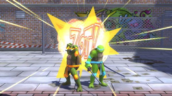 TMNT: Turtles in Time Re-Shelled Review (PS3, PSN) - 800 TMNT TIT09 Screenshot Alley4