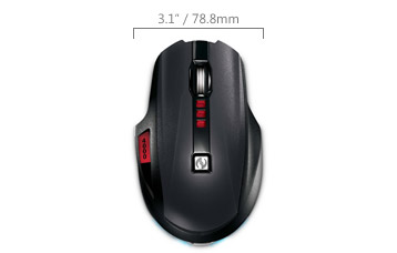 Microsoft Sidewinder X8 Wireless Gaming mouse Review (PC) -