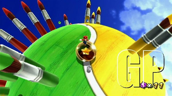 Super Mario Galaxy 2 Review (WII) - 877 SMG2