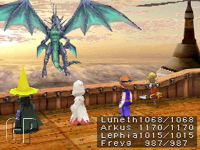 Final Fantasy III to be Released in Europe (DS) - 90 Battle01 psd jpgcopy