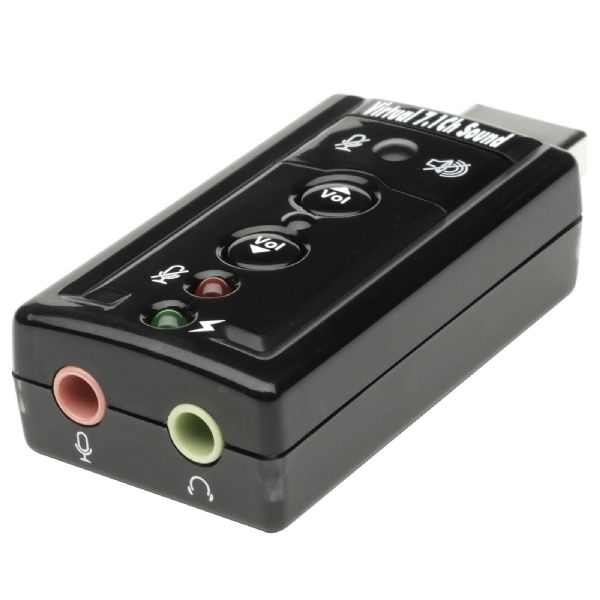 StarTech Virtual 7.1 USB Stereo Audio Adapter External Sound Card Review (PC) - 967 ICUSBAUDIO7