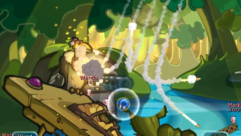 Worms: Battle Islands Review (PSP) - 970 worms battle psp