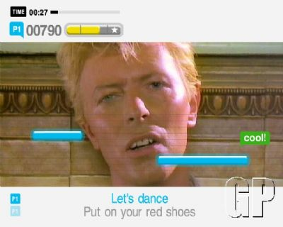 Summer's almost here and so is SingStarTM Summer Party! (PS2) - 996 SingStar  Summer Party PlayStation 2  PS2 Screenshots13998INT DavidBowie LetsDance