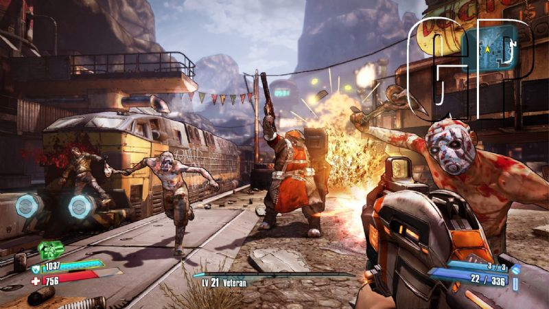 'Borderlands 2' mini-game 'Mount Jackmore' promising tons of goodies to the lucky (OTHER) - BL2 gc Combat in Lynchwood