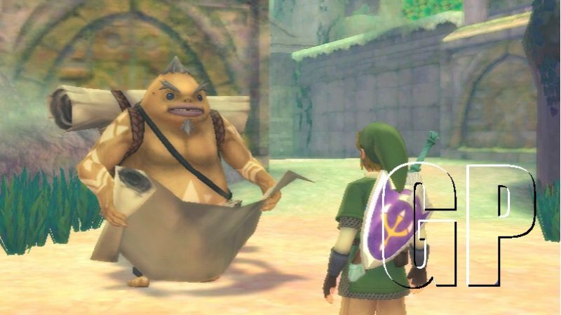 'The Legend Of Zelda: Skyward Sword' info worth its weight in Triforce gold (WII) - Zelda Skyward Sword 1014 06