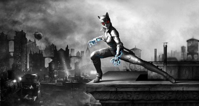 Sexy new Catwoman Character Render for Batman: Arkham City Armoured Edition (WIIU) - catwoman character render embargo 16th aug 3pm gmt