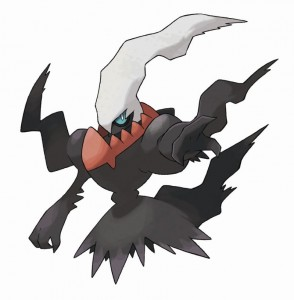Your DS's and your dreams have been warned. Darkrai is up for capture in ' Pok�mon Black' and 'Pok�mon White' (DS)