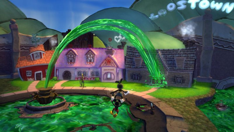 'Epic Mickey 2' shows us the power of two this November (360, 3DS, PS3, WII) - disney epic mickey 2 dis screenshot 1