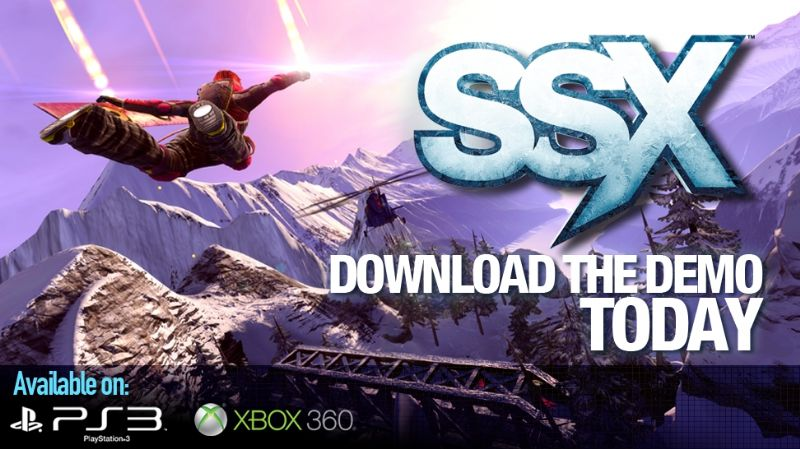 Hit the slopes early before tackling them head on in 'SSX' (PSN, XBLA) - downloaddemo psd jpgcopy