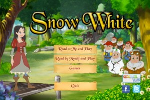 Free Bilingual Interactive Book of �Snow White Interactive Story� (IOS, MOB)