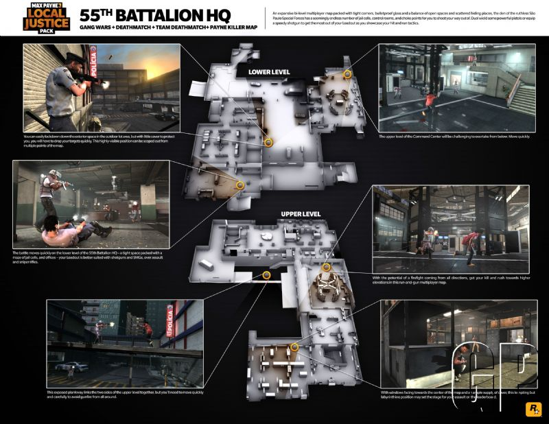 Europeans will get to detonate pals today with the 'Local Justice Pack' coming to 'Max Payne 3' (PSN, XBLA) -