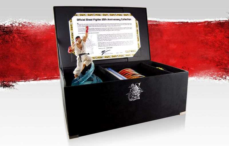 Street Fighter fans salivating in goodie based preperation for the 25th Anniversary Collector's Set (OTHER) -