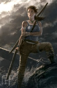 Lara gets her own art gallery in prep for 'Tomb Raider' after exhibition ends (OTHER)