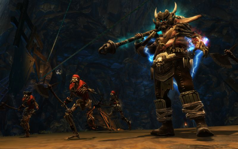 Take a trek through 'Kingdoms of Amalur's' first story driven DLC pack ; Gallows End (360, PS3) - reckoning dlc1 bloodgrin5