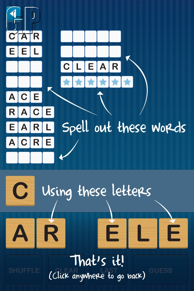 Plenty of tongue twisting to be had in 'Anagram Twist' (IOS) - screenshot0