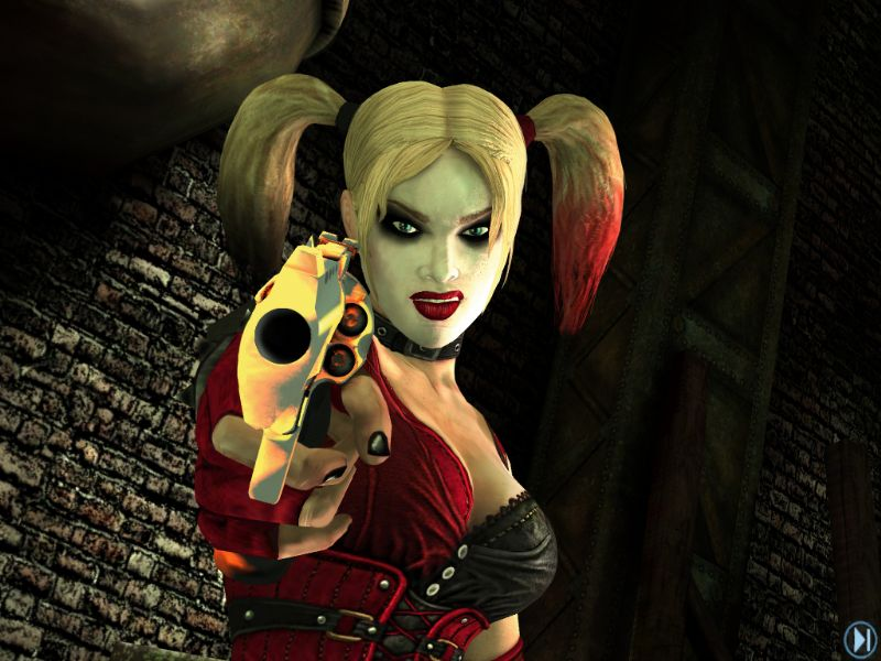 Batman: Arkham City Lockdown App - Free DLC (IOS) - screenshot bacl harley