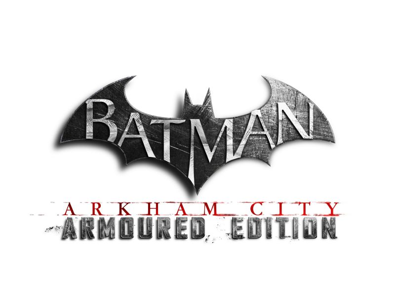 Warner Bros. Interactive Entertainment announces Batman: Arkham City Armoured Edition ships to retailers today (WIIU) - bac armoured ed uk logo f1.0 psd jpgcopy