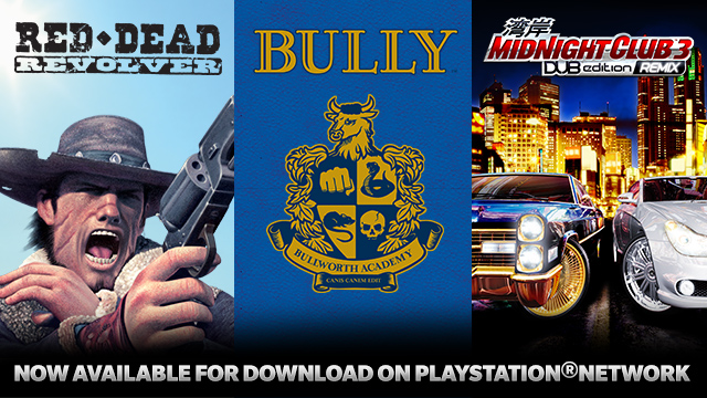 Rockstar Classics; Bully, Midnight Club 3 and Red Dead Revolver Now Available on PSN (PS3, PSN) - image002