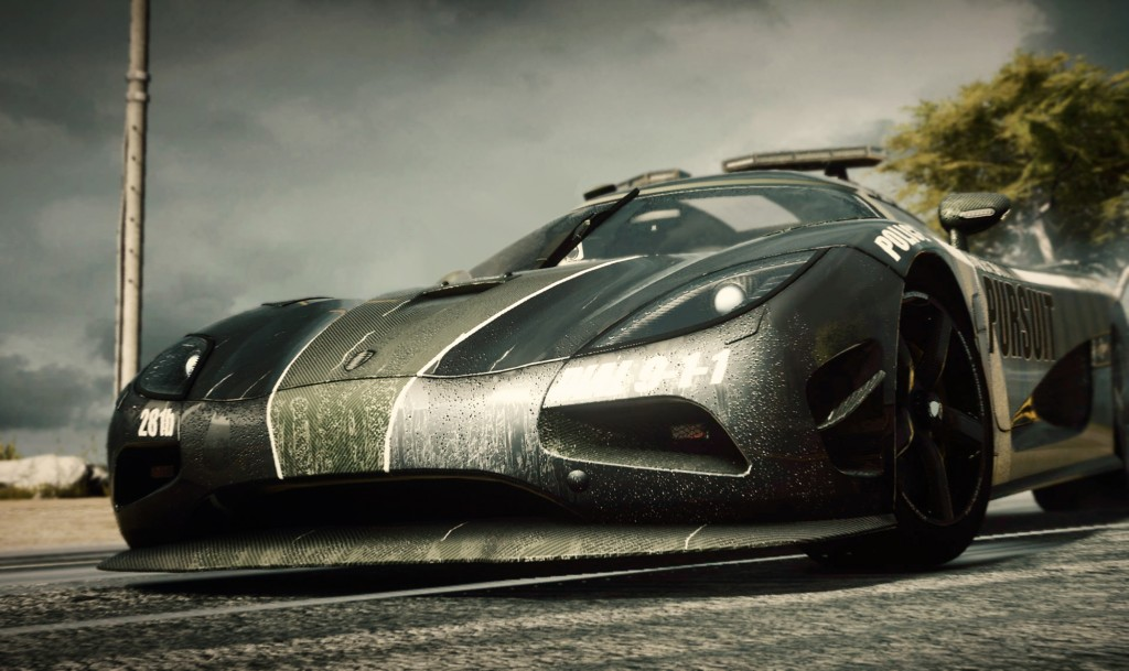 Need for Speed makes its next-gen debut with 'Need for Speed: Rivals' - need for speed rivals koenigsegg cop car