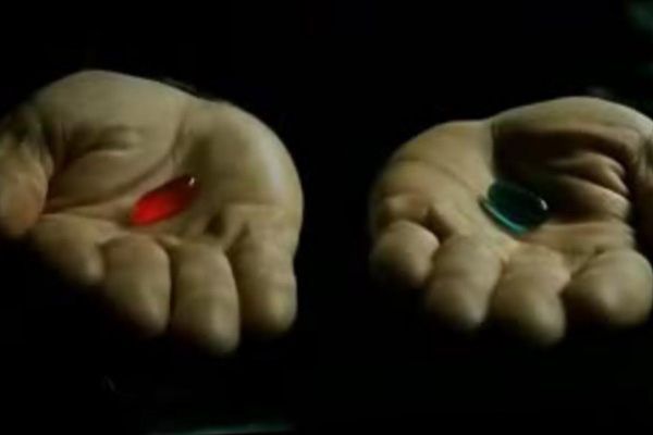 I want to experience games not just play them. (ARTICLES) - red pill blue pill1